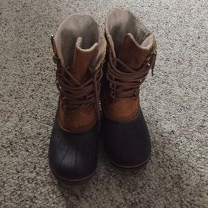 Sorel Fleece Lined Duck Boots